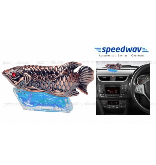 Speedwav Feng Shui Fish Perfume For Car / Office / Home - Blue